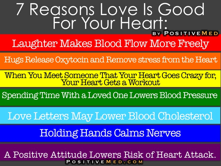 7 Reasons LOVE is Good for Your HEART