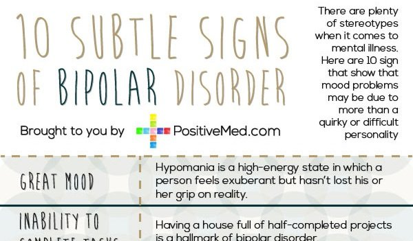 10 Subtle Signs of Bipolar Disorder
