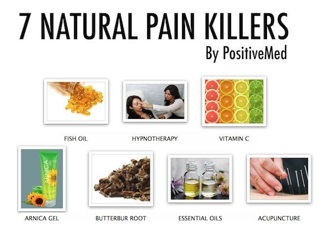 Top Natural Pain Killers
