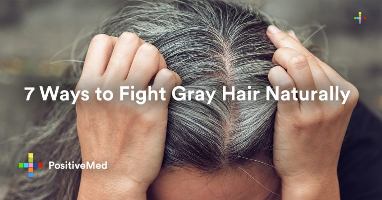 7 Ways to Fight Gray Hair Naturally