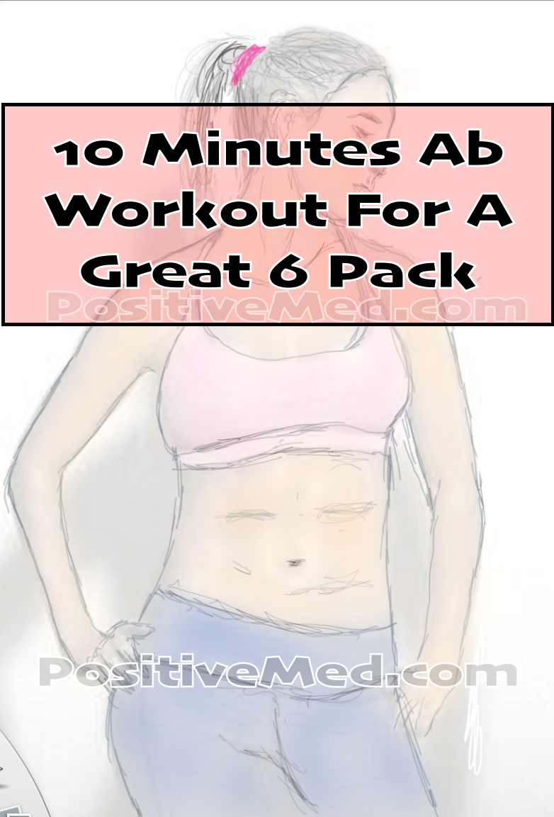 10 Minute Ab Workout To Get Six-Pack Abs!