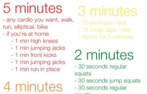 The 15 Minute Workout to Tone Your Entire Body