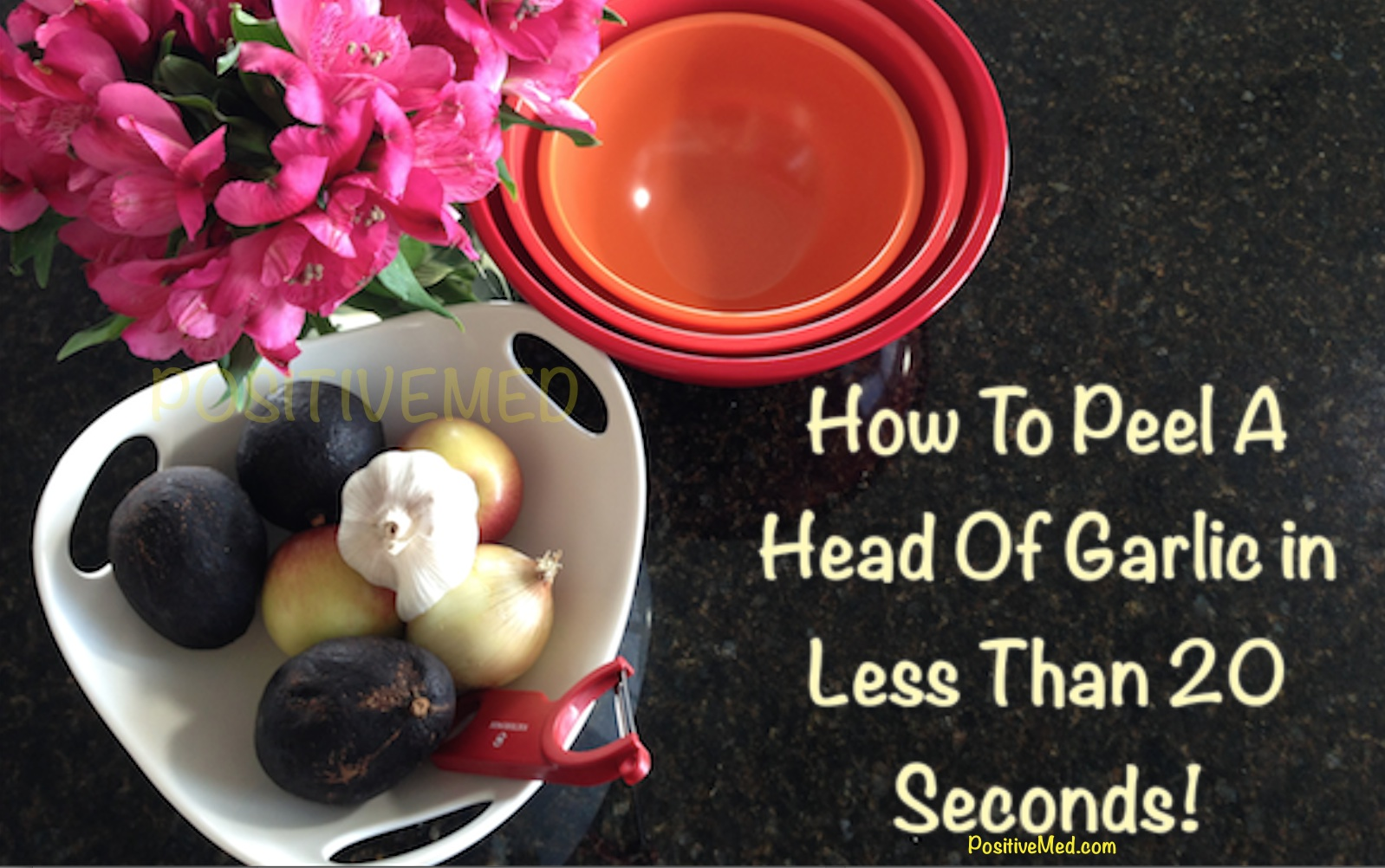 How To Peel A Head Of Garlic In Less Than 20 Seconds