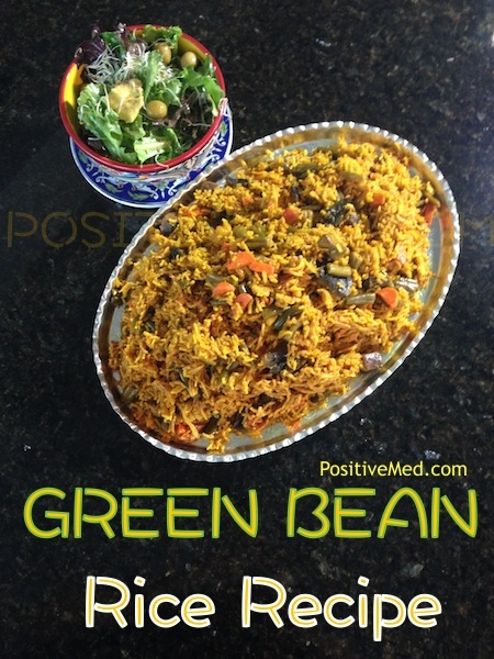 Green Bean Vegetarian Rice
