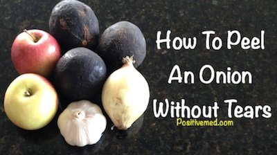 How To Peel An Onion Without Tears