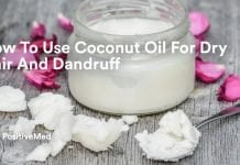 How To Use Coconut Oil For Dry Hair And Dandruff.