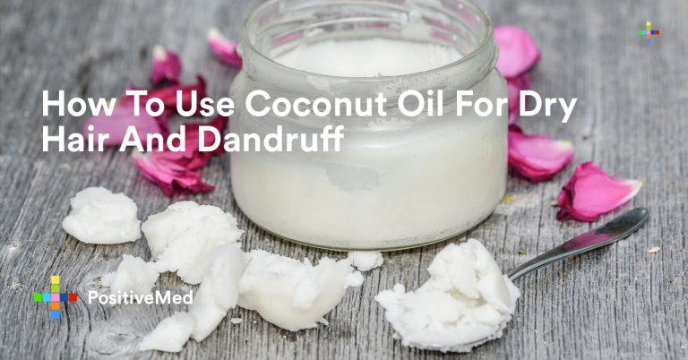 How To Use Coconut Oil For Dry Hair And Dandruff