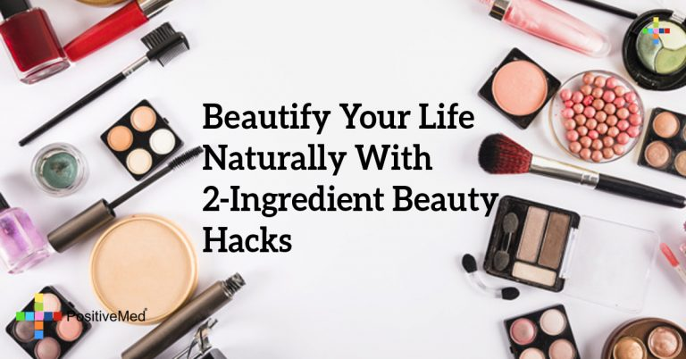Beautify Your Life Naturally With 2-Ingredient Beauty Hacks