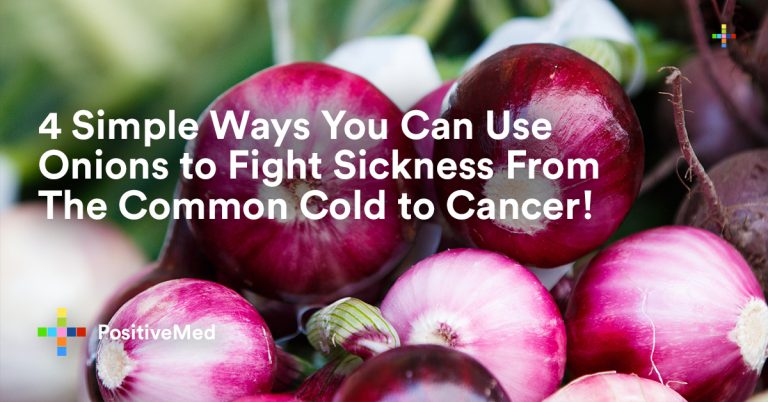4 Simple Ways You Can Use Onions to Fight Sickness From The Common Cold to Cancer!