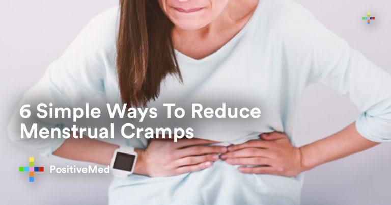 6 Simple Ways To Reduce Menstrual Cramps