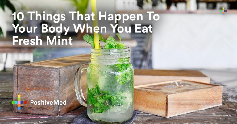 10 Things That Happen To Your Body When You Eat Fresh Mint