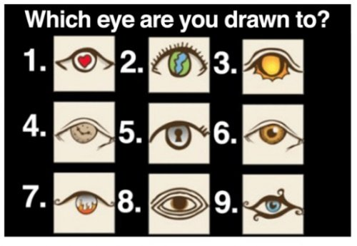 Personality Test: Choose An Eye And See What It Reveals About Your Personality