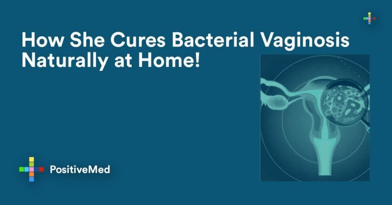 How She Cures Bacterial Vaginosis Naturally at Home!