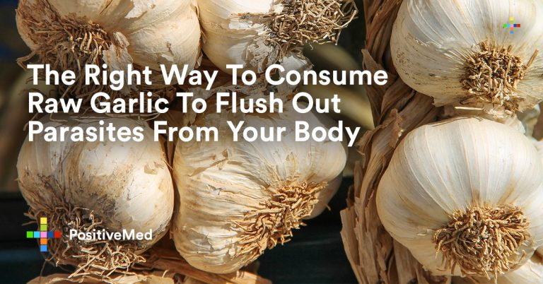The Right Way To Consume Raw Garlic To Flush Out Parasites From Your Body