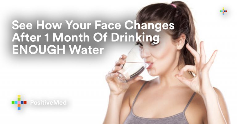 See How Your Face Changes After 1 Month Of Drinking ENOUGH Water