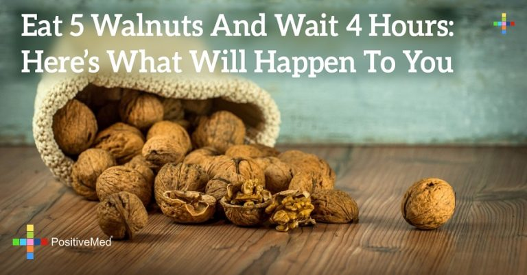 Eat 5 Walnuts And Wait 4 Hours: Here's What Will Happen To You