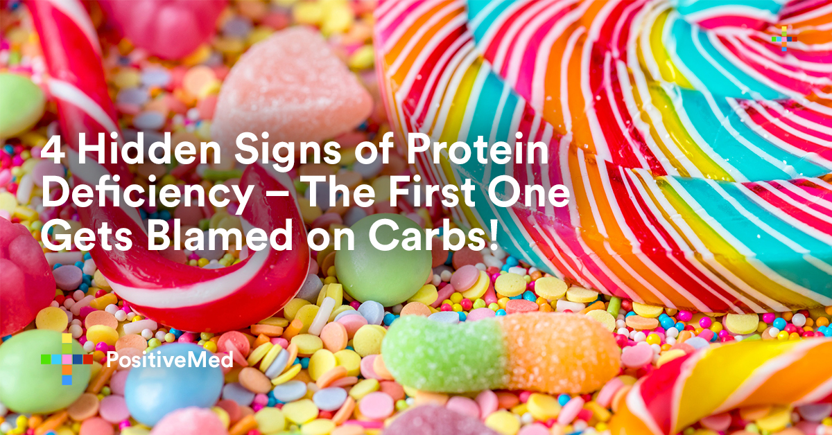 4 Hidden Signs of Protein Deficiency - The First One Gets Blamed on Carbs!