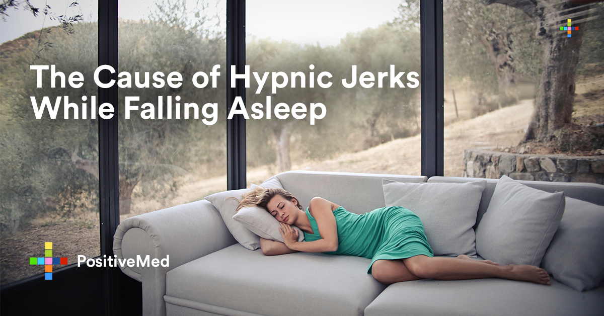 The Cause of Hypnic Jerks While Falling Asleep