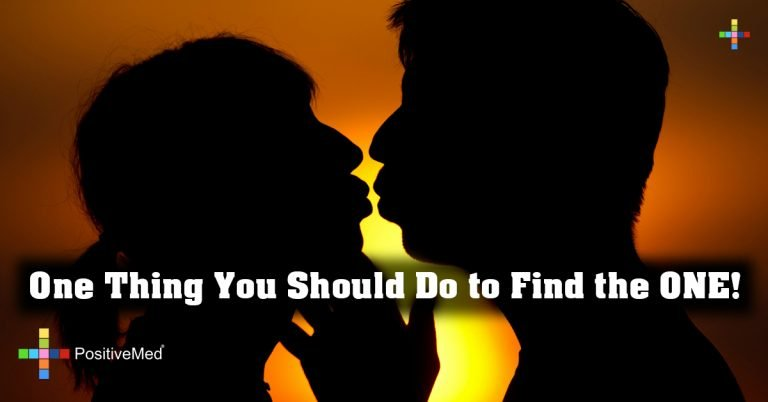 One Thing You Should Do to Find the ONE!