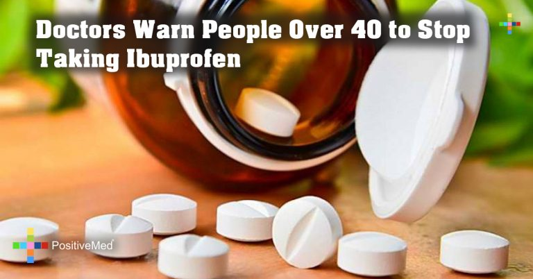 Doctors Warn People Over 40 to Stop Taking Ibuprofen