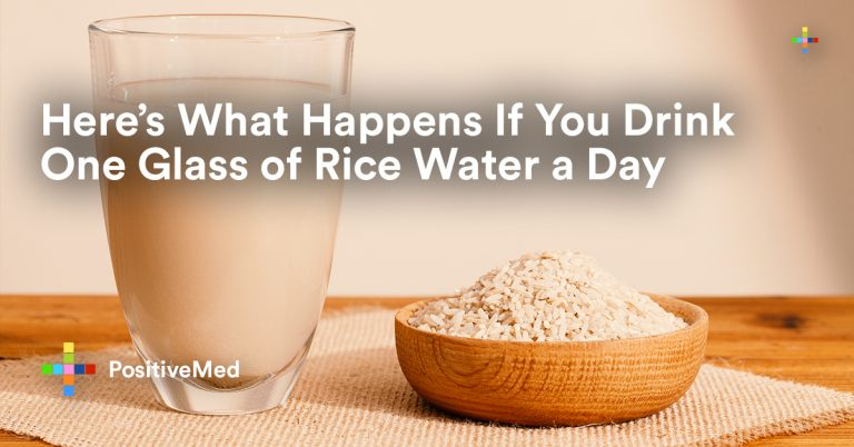Here's What Happens If You Drink One Glass of Rice Water a Day