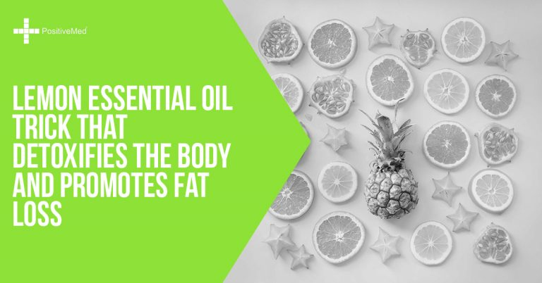 Lemon Essential Oil Trick That Detoxifies the Body and Promotes Fat Loss