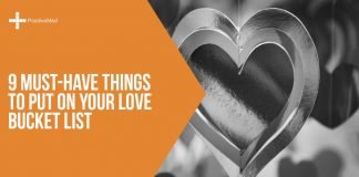 9 Must-Have Things to Put on Your Love Bucket List
