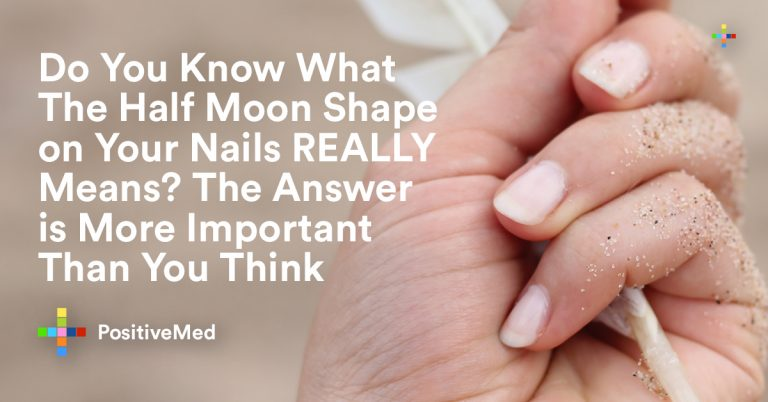 Do You Know What The Half Moon Shape on Your Nails REALLY Means? The Answer is More Important Than You Think