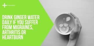 Drink Ginger Water Daily If You Suffer from Migraines, Arthritis or Heartburn