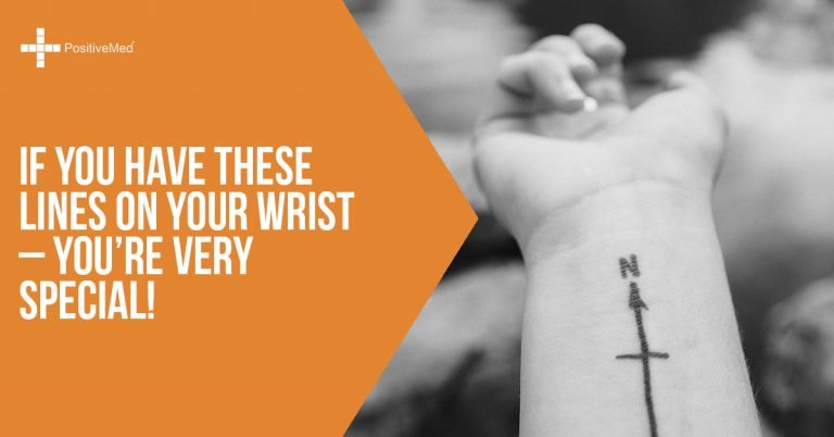 If You Have These Lines on Your Wrist – You're Very Special!