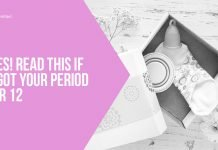 Ladies! Read This If You Got Your Period After 12