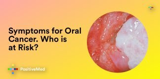 Symptoms for Oral Cancer. Who Is at Risk