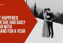 What Happened After She Had Daily Amour With Husband for a Year