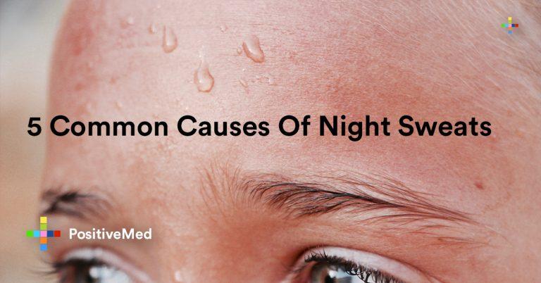 5 Common Causes Of Night Sweats