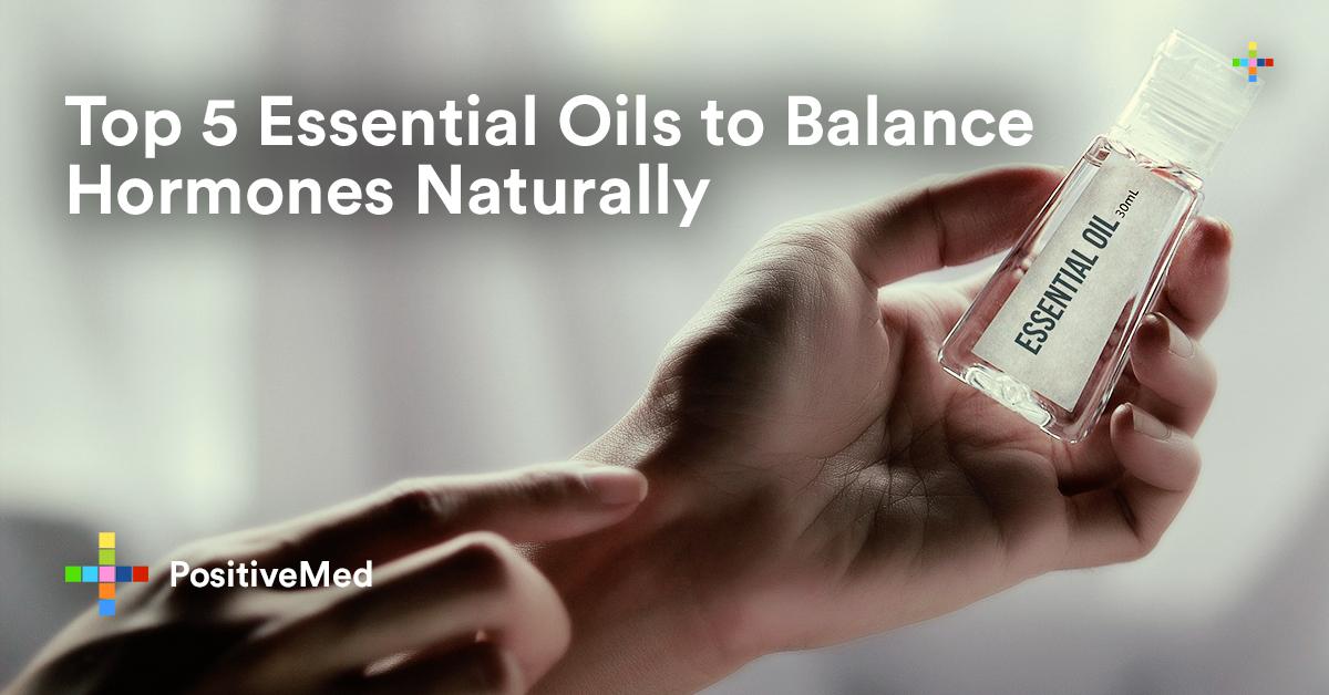 Top 5 Essential Oils to Balance Hormones Naturally.