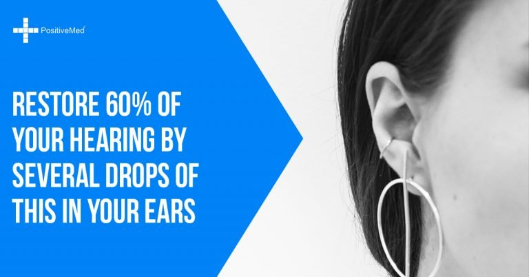 Restore 60% of Your Hearing by Several Drops of THIS in Your Ears