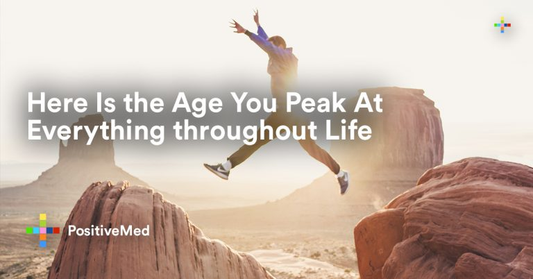 Here Is the Age You Peak At Everything throughout Life