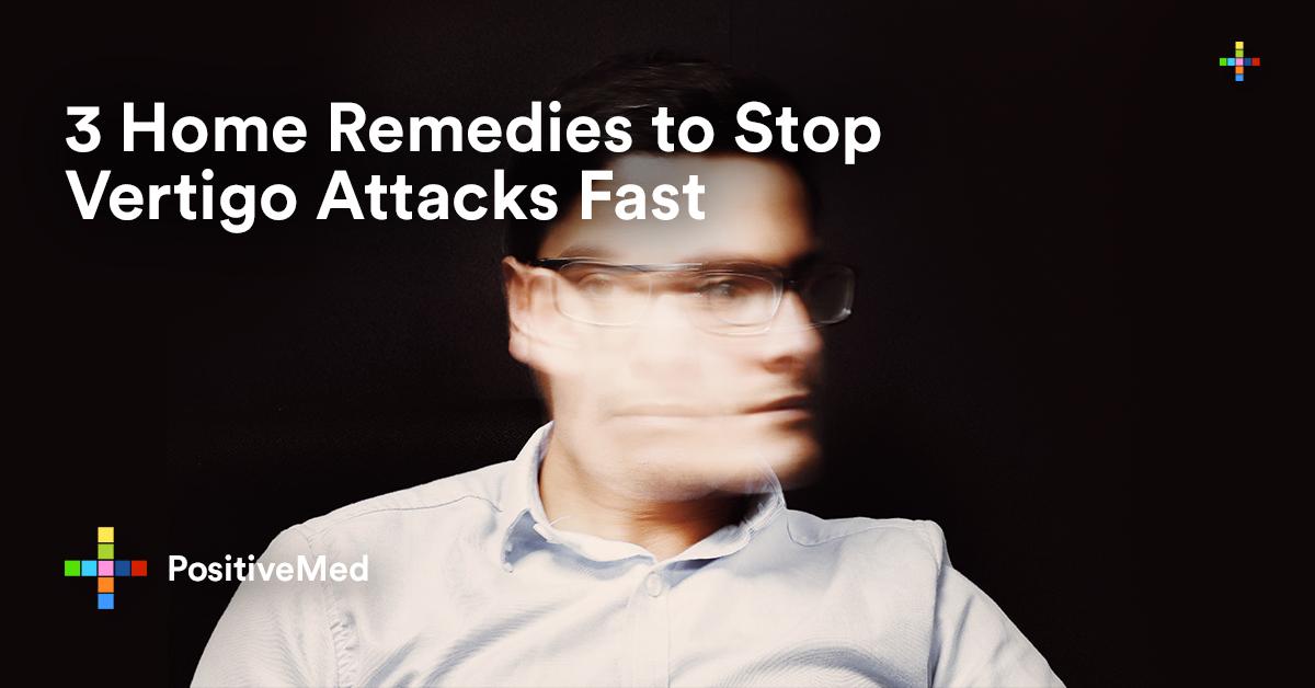 3 Home Remedies to Stop Vertigo Attacks Fast