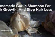 Homemade Garlic Shampoo For Hair Growth, And Stop Hair Loss.