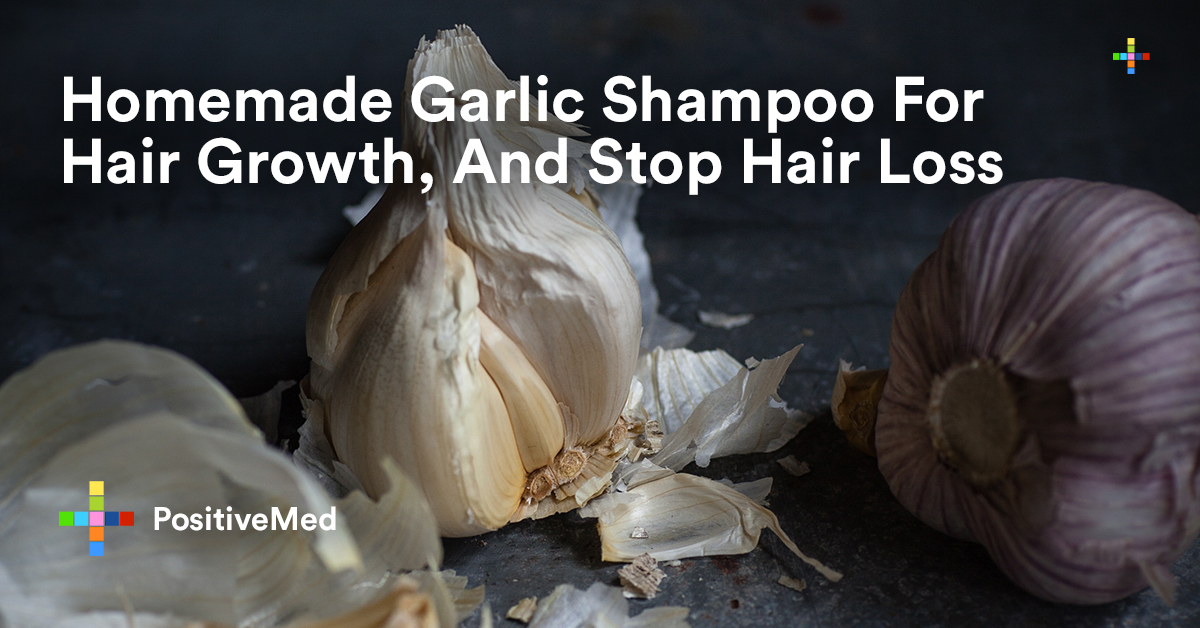 Homemade Garlic Shampoo For Hair Growth, And Stop Hair Loss.