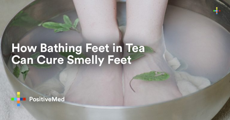 How Bathing Feet in Tea can Cure Smelly Feet