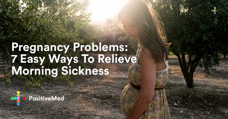 Pregnancy Problems: 7 Easy Ways To Relieve Morning Sickness