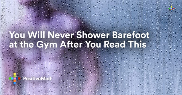 You Will Never Shower Barefoot at the Gym After You Read This