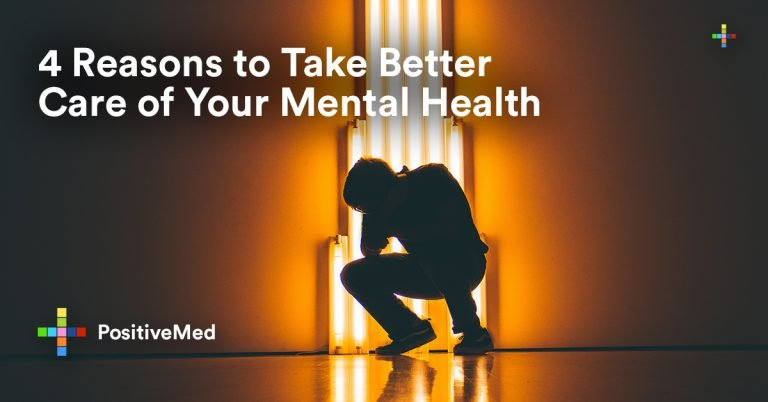 4 Reasons to Take Better Care of Your Mental Health