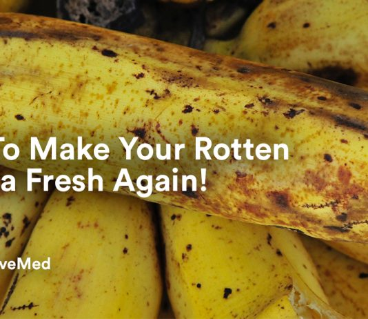 How To Make Your Rotten Banana Fresh Again.