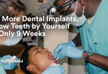 No More Dental Implants, Grow Teeth by Yourself in Only 9 Weeks.
