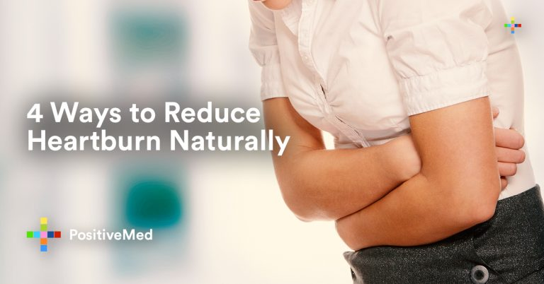 4 Ways to Reduce Heartburn Naturally