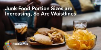 Junk Food Portion Sizes are Increasing, So Are Waistlines.