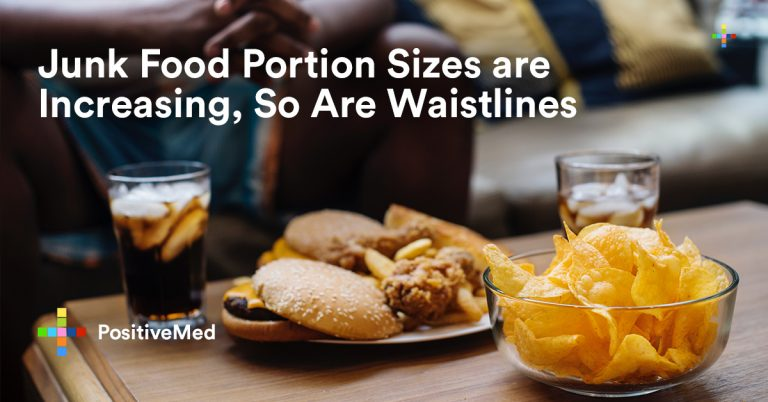 Junk Food Portion Sizes are Increasing, So Are Waistlines