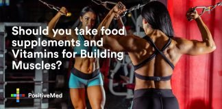 Should you take food supplements and Vitamins for Building Muscles.